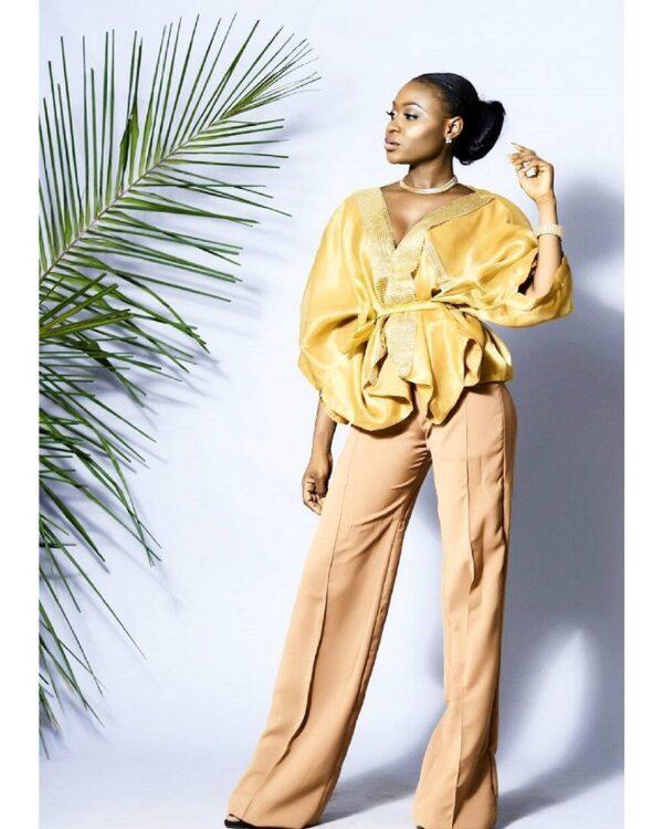 LadyBeellionaire Fashion Nigeria Nlecha collection