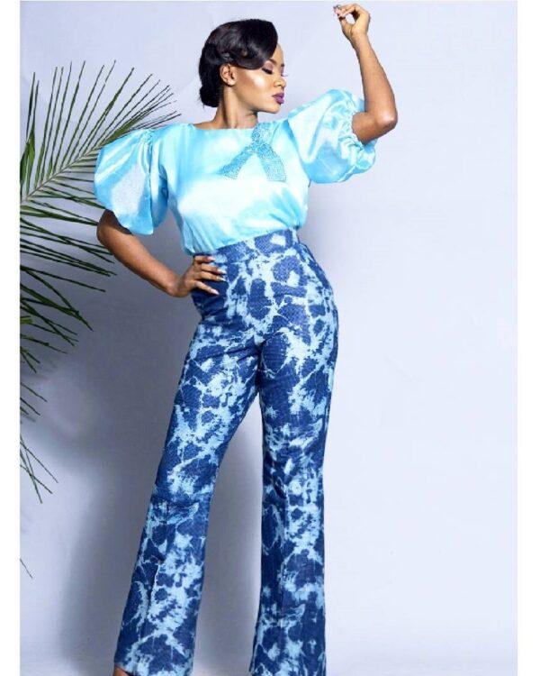 LadyBeellionaire Fashion Nigeria - Nlecha collection