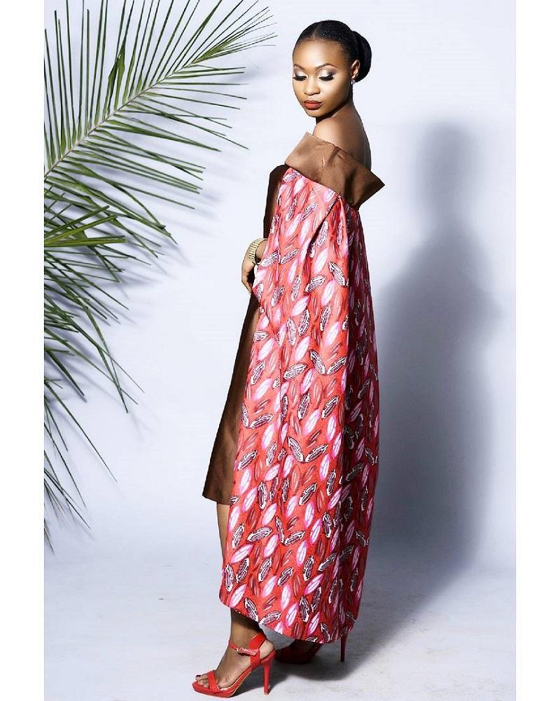 LadyBeellionaire The Elizabeth Cape Dress 1