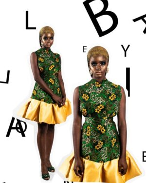 LadyBeellionaire Fashion Nigeria Unboxed piece