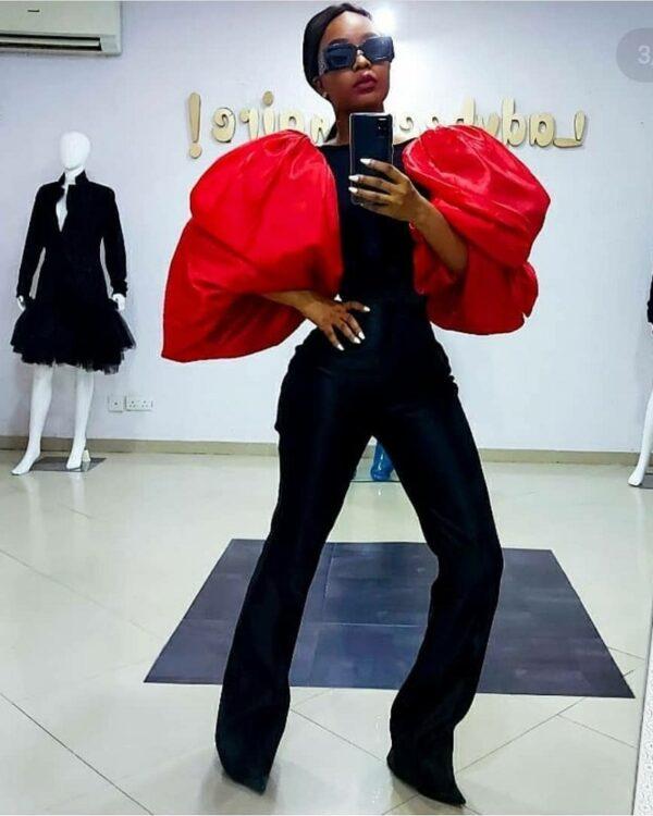 LadyBeellionaire Fashion Nigeria Drapes piece