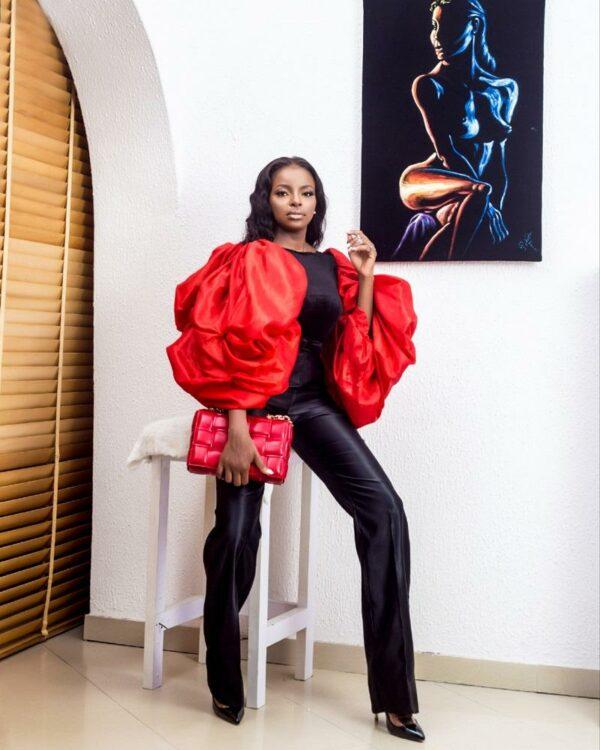 LadyBeellionaire Fashion Nigeria - Theatre 2 piece