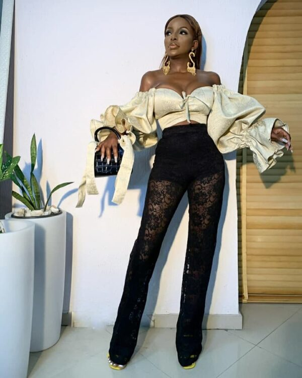LadyBeellionaire Fashion Nigeria Kendra Outfit