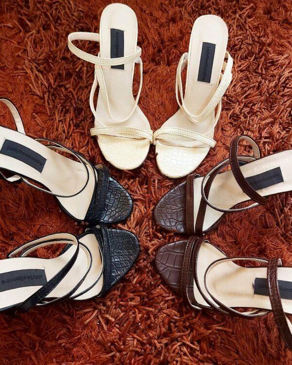 LadyBeellionaire Fashion Nigeria - dina mules