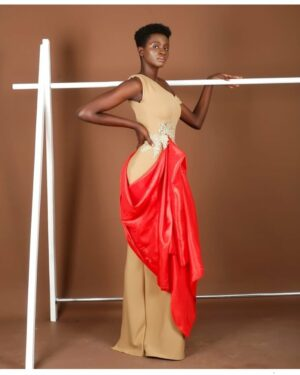 LadyBeellionaire Fashion Nigeria - Drapes collection