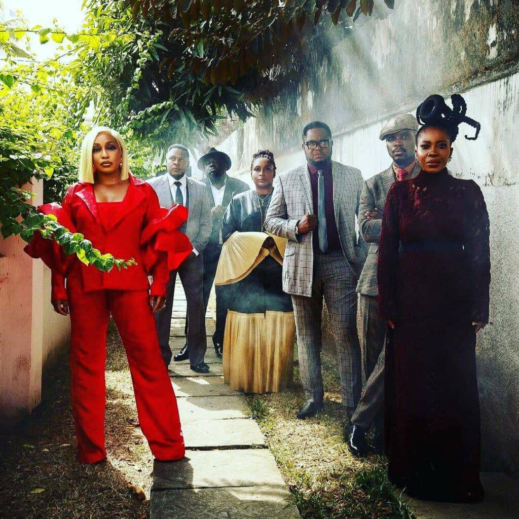 LadyBeellionaire Fashion Nigeria - Rita Dominic -Francisca Suit