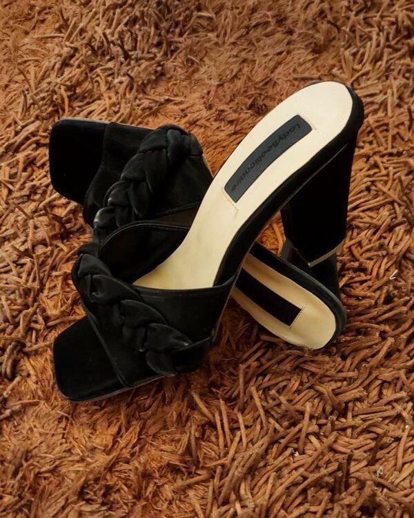 LadyBeellionaire Fashion Nigeria - Cornrow Mules