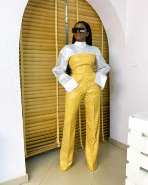 LadyBeellionaire Fashion Nigeria - Charlotte set