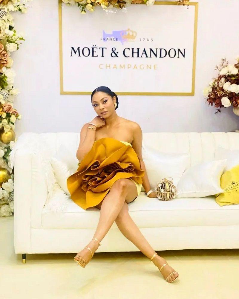 LadyBeellionaire Fashion Nigeria - Enado Dress
