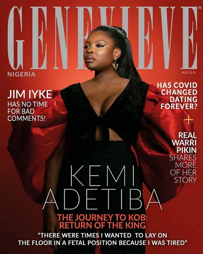 LadyBeellionaire Fashion Nigeria - Stories - Kemi Adetiba